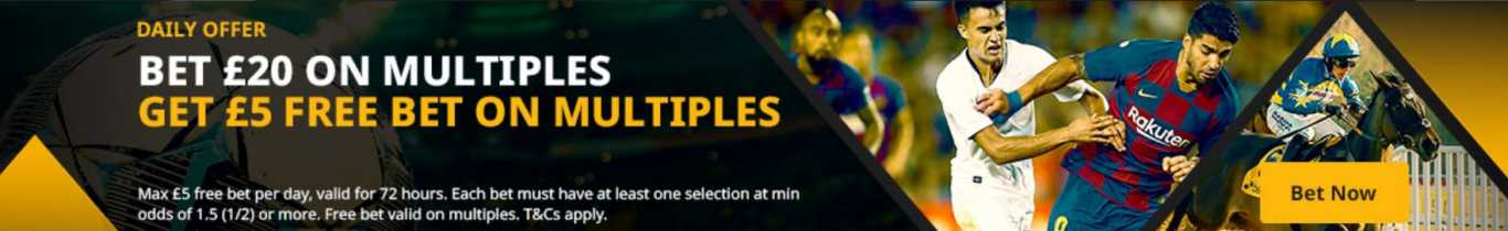 Betfair joining offers: multiplies