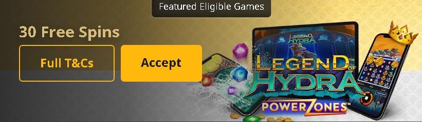 Casino Betfair promo code